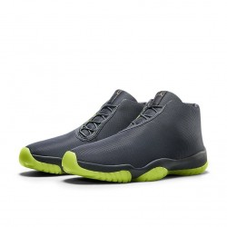 Air Jordan Future Dark Grey Volt Green 3M
