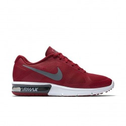 Nike Air Max Sequent Grey/University Red