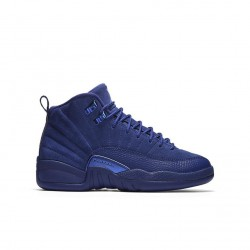 Air Jordan 12 Retro Deep Royal Blue GS 153265-400