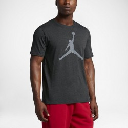 Koszulka Air Jordan Iconic Jumpman Logo Black/Grey