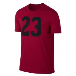Koszulka Air Jordan JSW Iconic 23 Tee Gym Red 843713-687