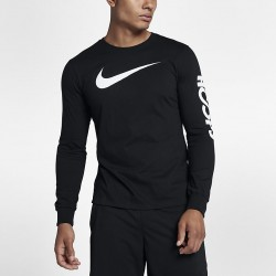 Koszulka Nike Dry Long-Sleeve T-Shirt Black/Black 882204-010