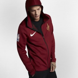 Bluza Nike NBA Cleveland Cavaliers Therma Flex Showtime Hoodie Full Zip 899832-677