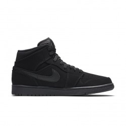 Air Jordan 1 Mid Black 554724-040