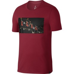 Koszulka Air Jordan Dry Flight Photo Tee Gym Red 878382-687