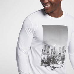 Koszulka Air Jordan City Of Flight Long-Sleeve White 913023-100