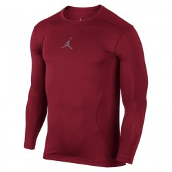 Koszulka AJ All Season Comp LS Top Red/Grey
