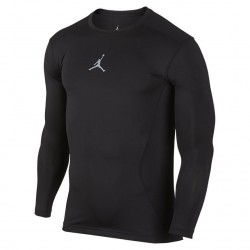 Koszulka AJ All Season Comp LS Top Black/Grey