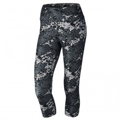 Spodnie Nike Legend Ti Poly Capri Black/White