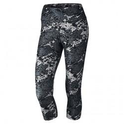 Spodnie Nike Legend Ti Poly Capri Black/White