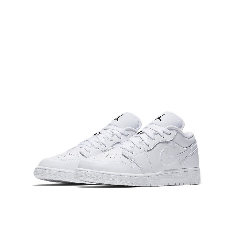 Air Jordan 1 Low GS White 553560-101