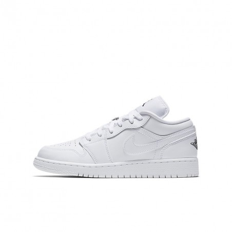 Air Jordan 1 Low GS White 553560-101