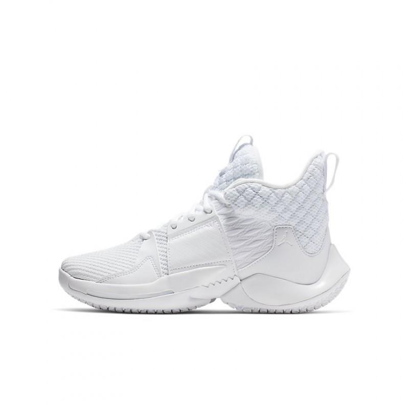 Air Jordan Why Not Zer0.2 GS White AO6218-101