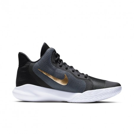 Nike Precision III Grey/Gold AQ7495-003