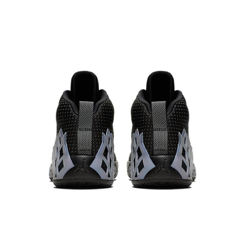 Air Jordan Jumpman Diamond Mid Black/Metallic Silver CI1204-002