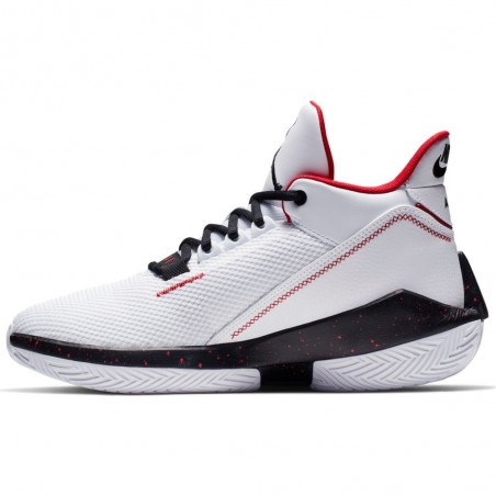 Air Jordan 2x3 White/Black/Gym Red BQ737-101