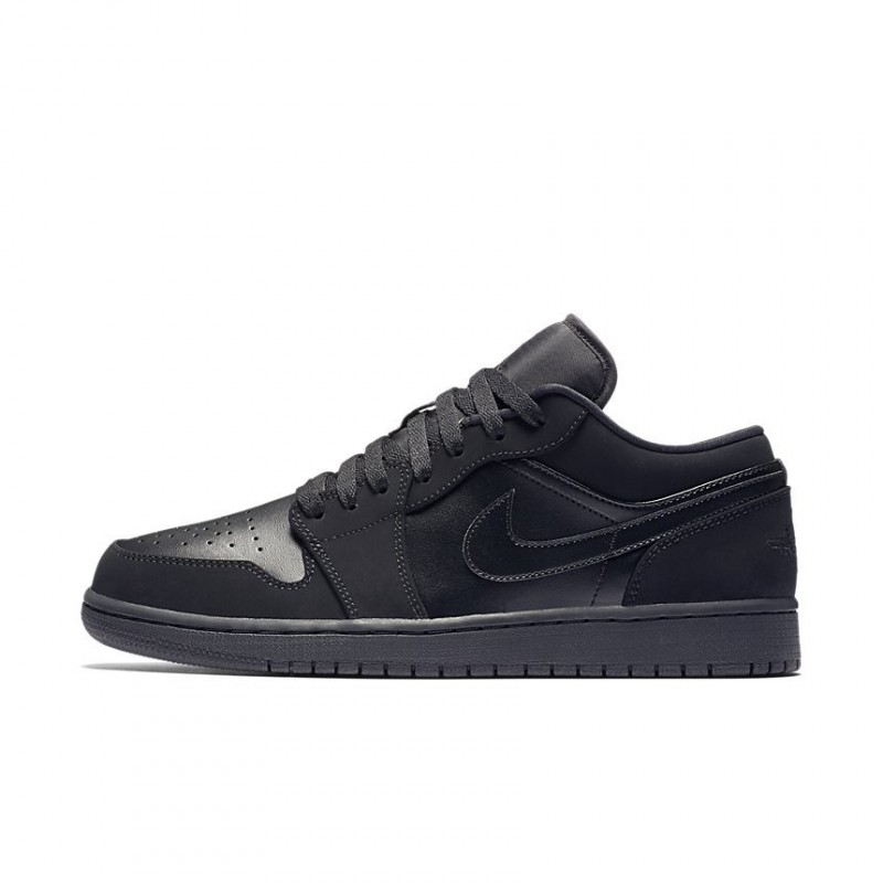 Air Jordan 1 Retro Black Low 553558-025