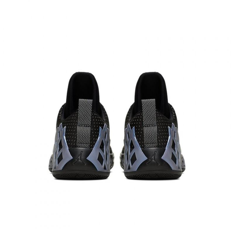 Air Jordan Jumpman Diamond Low Black/Metalic Silver CI1207-002