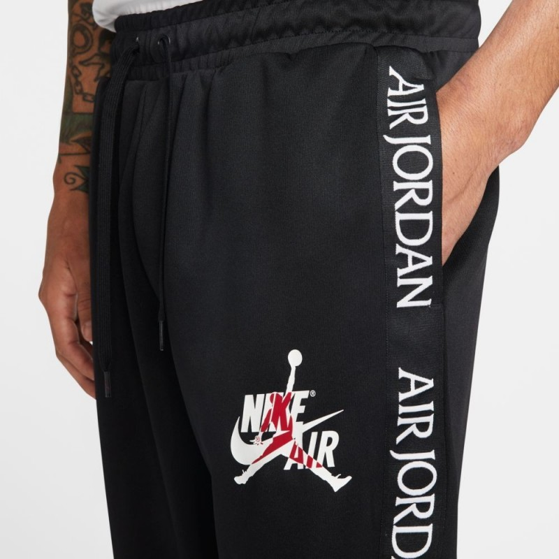 Spodnie Air Jordan CLSC Tricot Warmup Black/White CK2199-010