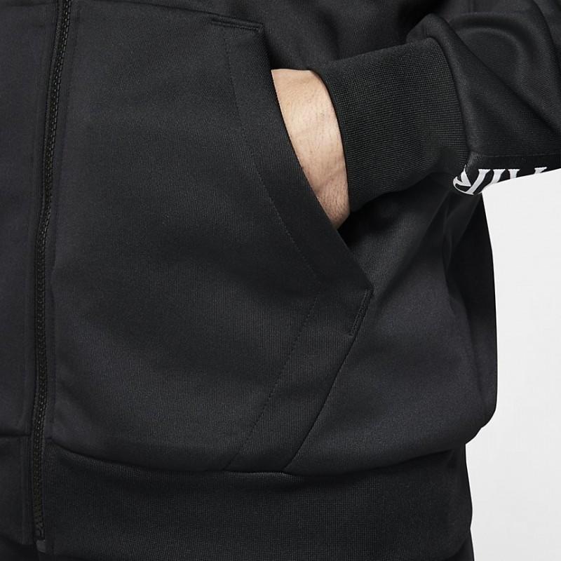 Bluza Air Jordan CLSC Tricot Warmup Black/White CK2180-010