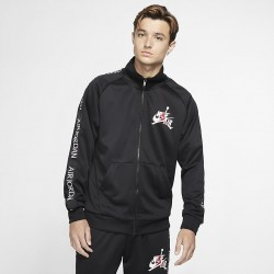 Bluza Air Jordan CLSC Tricot Warmup Black/White CK2180-010
