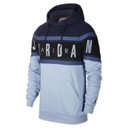 Bluza Air Jordan Air Fleece Pullover Hoodie Obsidian/Indigo Fog BQ5651-451