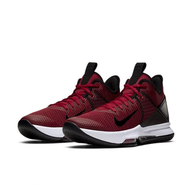 Nike LeBron Witness IV LeBron James Black/Gym Red BV7427-002