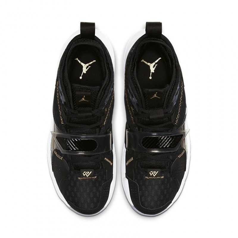 Air Jordan Why Not Zer0.3 Black/Gold CD3003-001