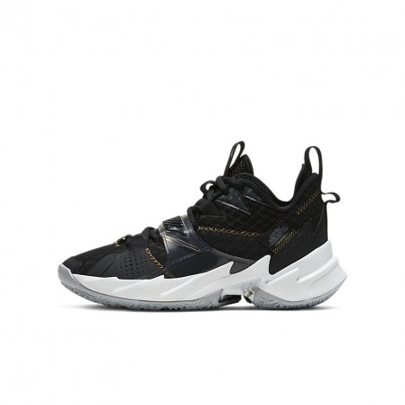 Air Jordan Why Not Zer0.3 Black/Gold GS CD5804-001