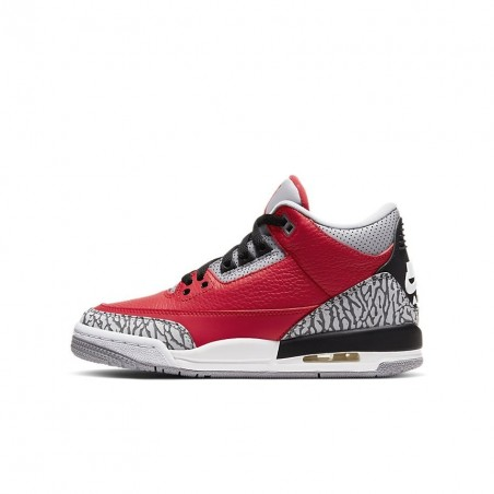 Air Jordan 3 Retro SE Unite Fire Red GS CQ0488-600