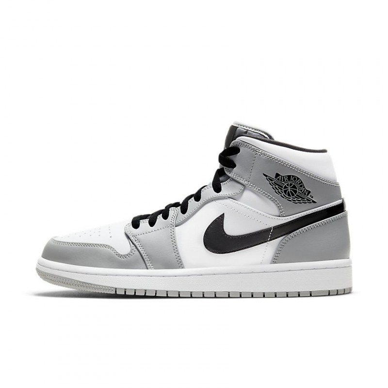 Air Jordan 1 Retro Mid Light Smoke Grey 554724-092