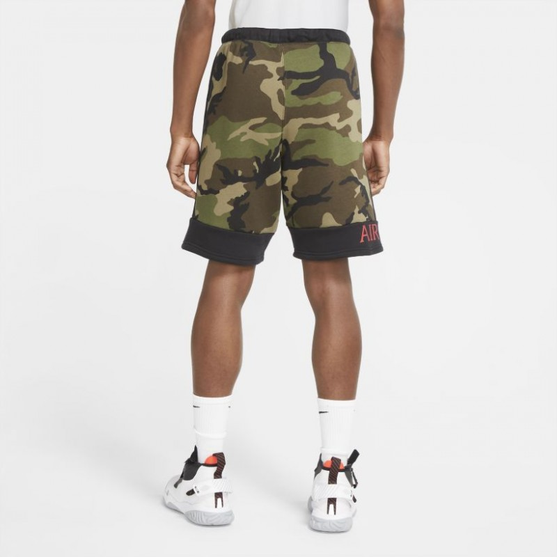 Spodenki Air Jordan Camo Fleece CU2064-222