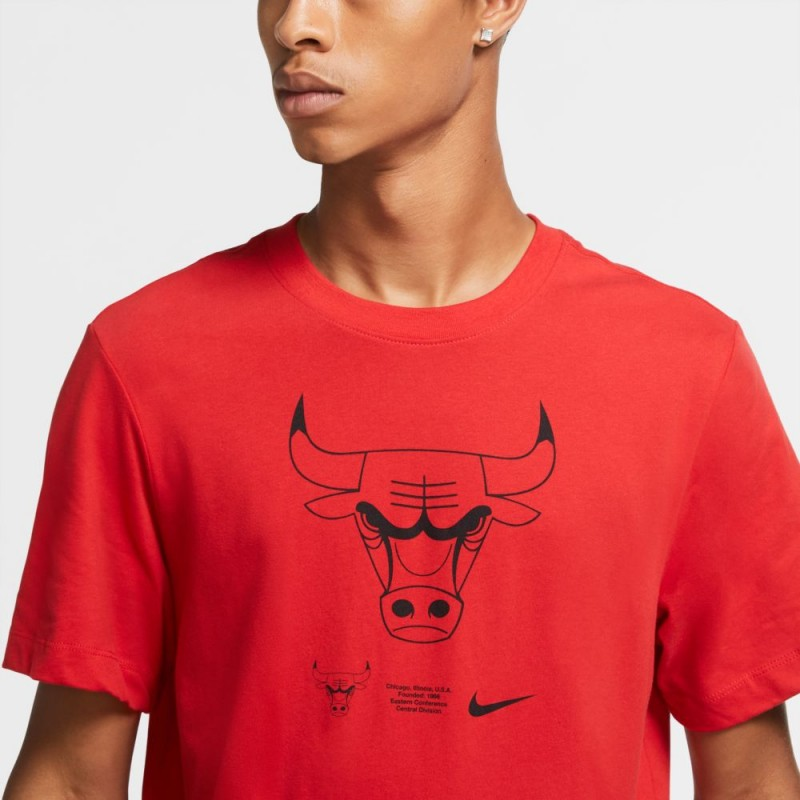 Koszulka Nike Bulls Logo CK8363-657