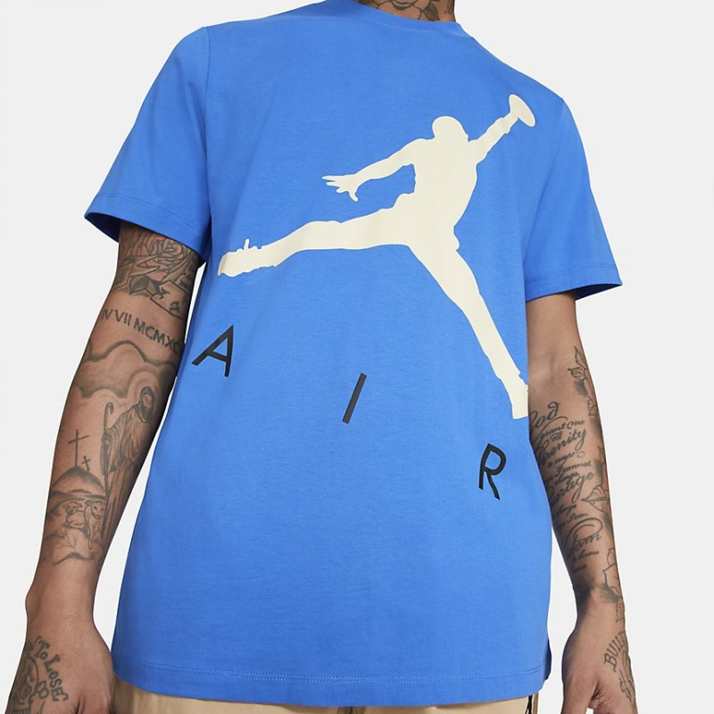 Koszulka Jordan Jumpman Air HBR Signal Blue CV3425-403