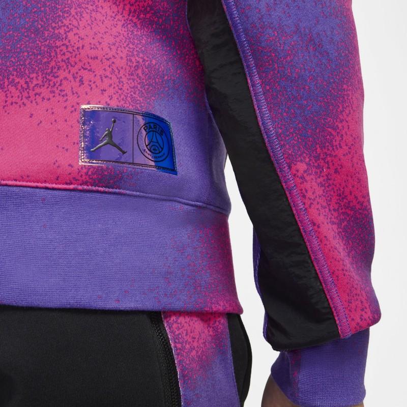Bluza Air Jordan Paris Saint-Germain Psychic Purple/Hyper Pink CK9649-510