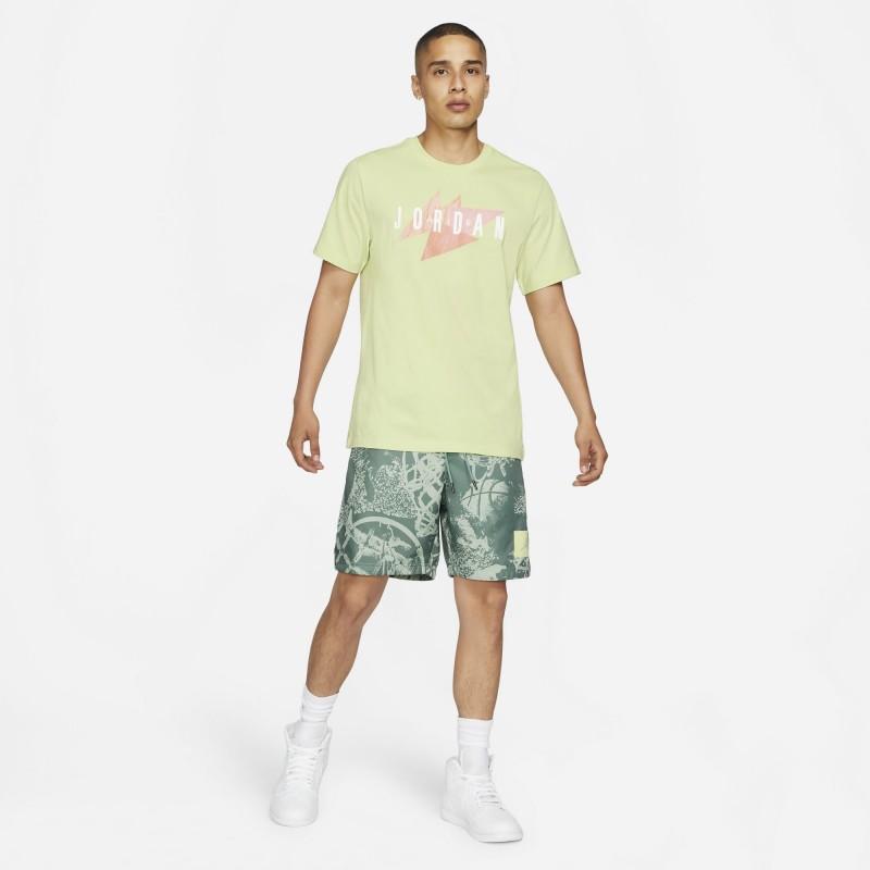 Koszulka Jordan Jumpman Air Wordmark Limelight CZ8303-352