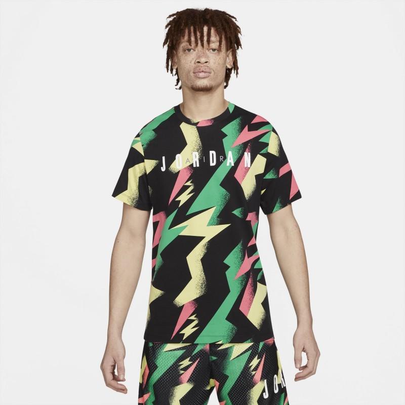 Koszulka Jordan Jumpman Air Black/Sunset Pulse DB1553-011