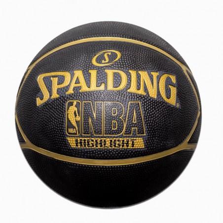 Piłka NBA Highlight Gold...