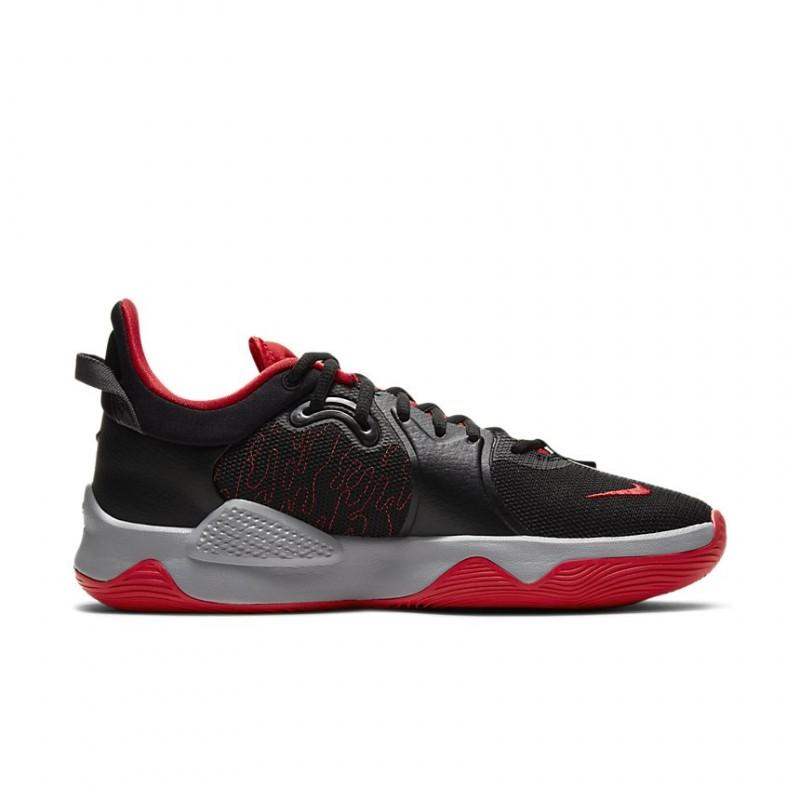 Nike PG5 Black/White/Gym Red CW3143-002