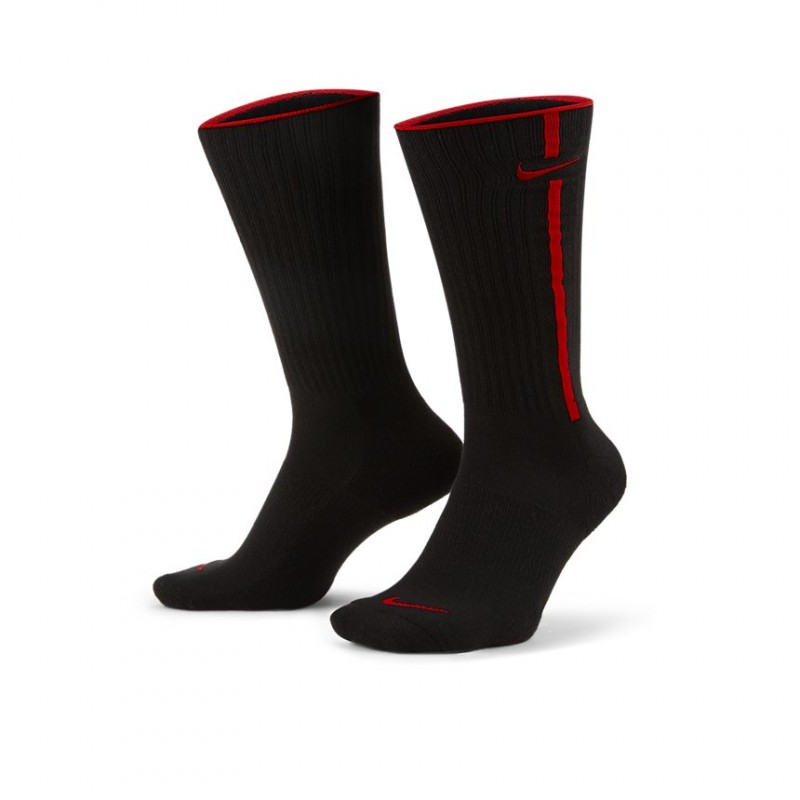 Skarpetki Nike Heritage  Black/Chile Red DA5042-010