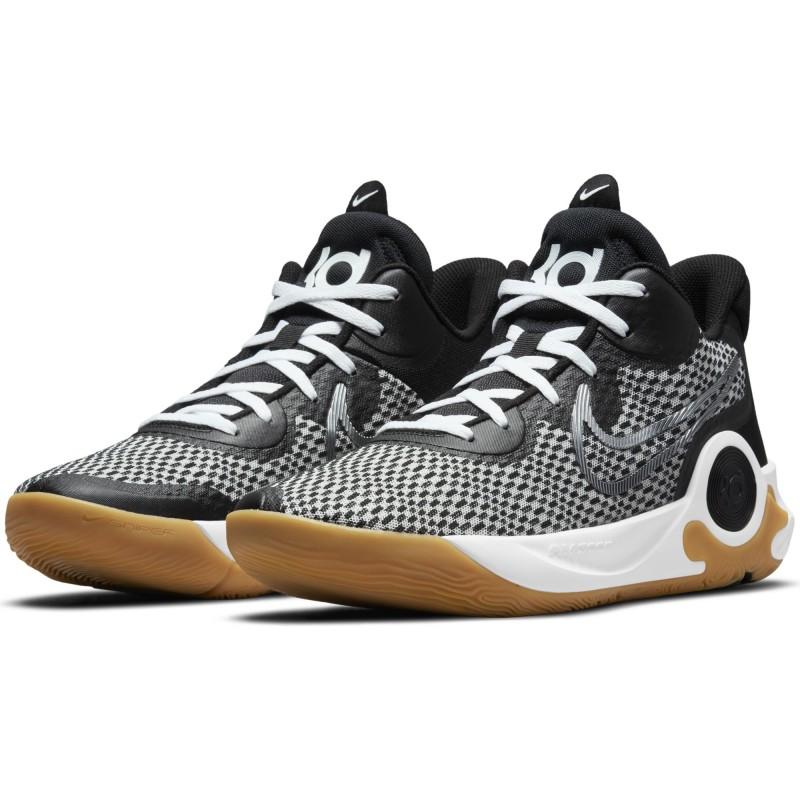 Nike KD Trey 5 IX Black/MTLC Cool Grey-White