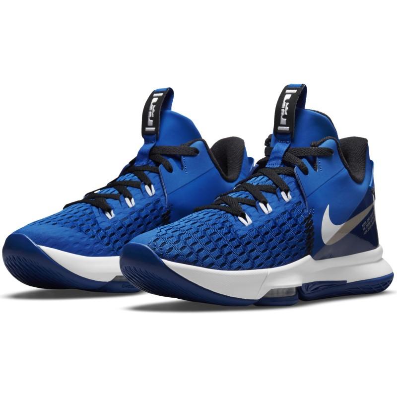 Nike LeBron Witness 5 Game Royal/White-Black CQ9380-400