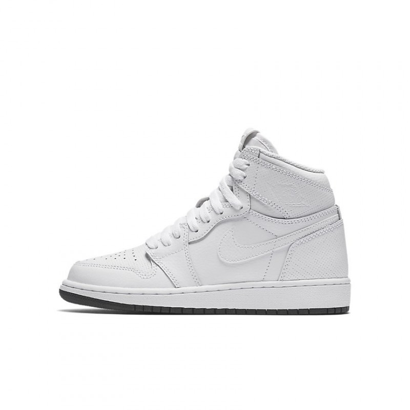 Air Jordan 1 Retro High OG BG White 575441-100