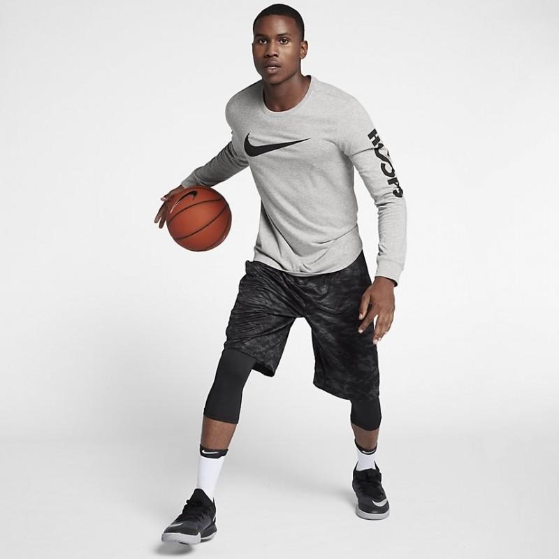 Koszulka Nike Dry Long-Sleeve T-Shirt Grey/Grey 882204-063