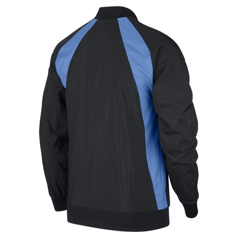 Bluza Air Jordan Wings Muscle Jacket Black University Blue 843100-013