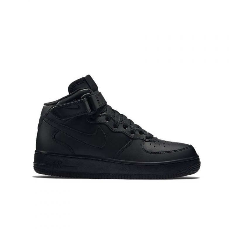 Nike Air Force 1 Mid Black (GS)