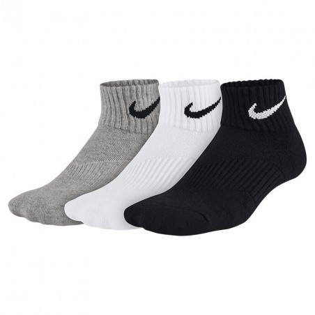 Skarpety Nike 3PPK Cushion Quarter SX4703-901